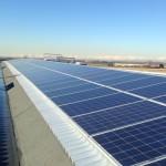 Pannelli solari magazzini Polo di Mortara