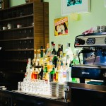 Il bar del Polo Logistico di Mortara