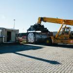 Movimentazione carichi Terminal Mortara