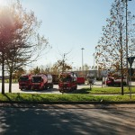 Ampio parcheggio Terminal Mortara