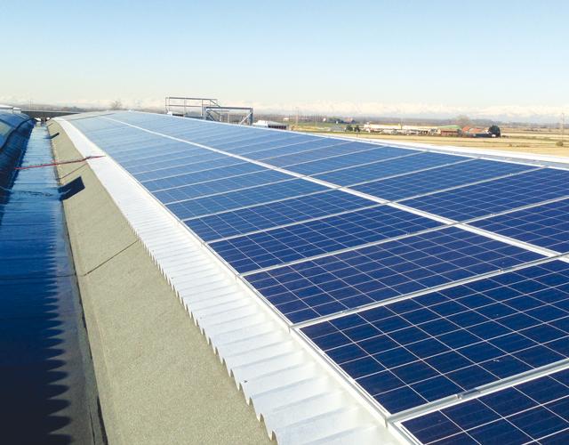 Pannelli solari Polo di Mortara