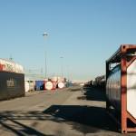 Stoccaggio container merci Polo di Mortara