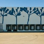 I magazzini dell'area logistica del Polo di Mortara